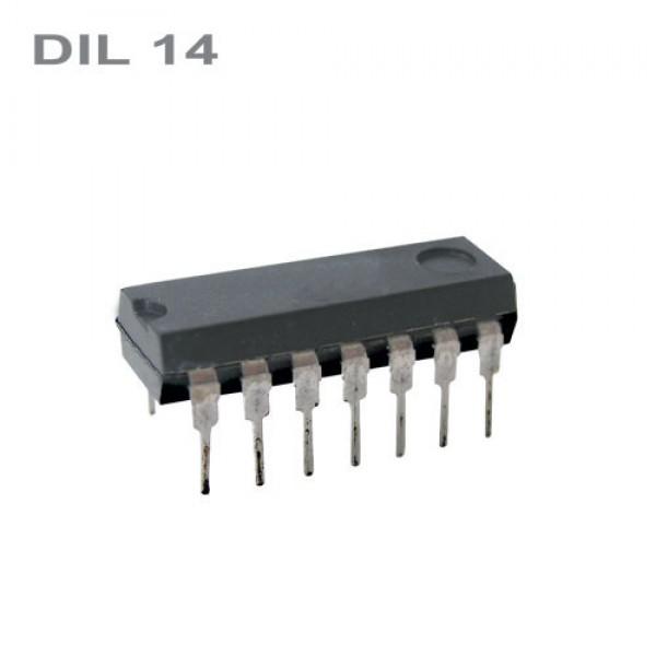 CMOS 4093 DIL14 IO