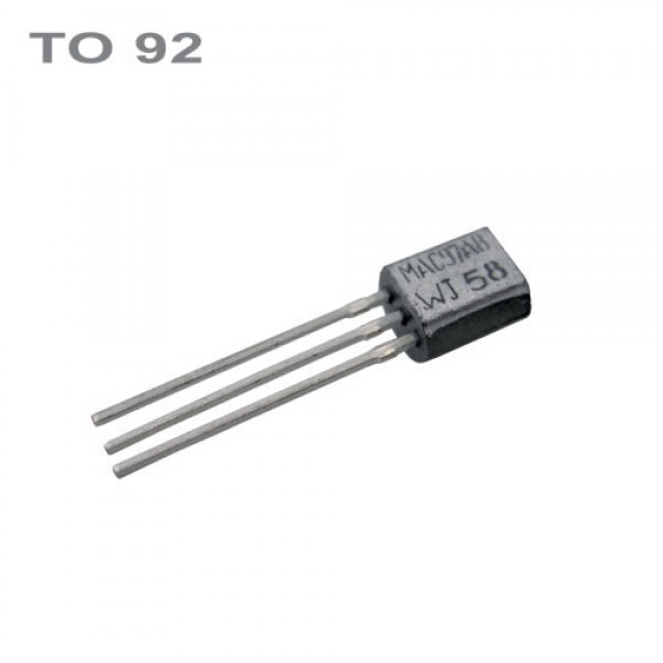 Stabilizátor 79L15 -15V 0.1A TO92 IO