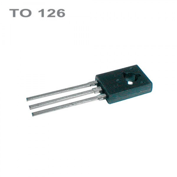 BD138 PNP 60V,1.5A,8W,75MHz TO126