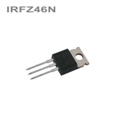 IRFZ46N MOS-FET 55V, 53A, 120W (TO-220AB)