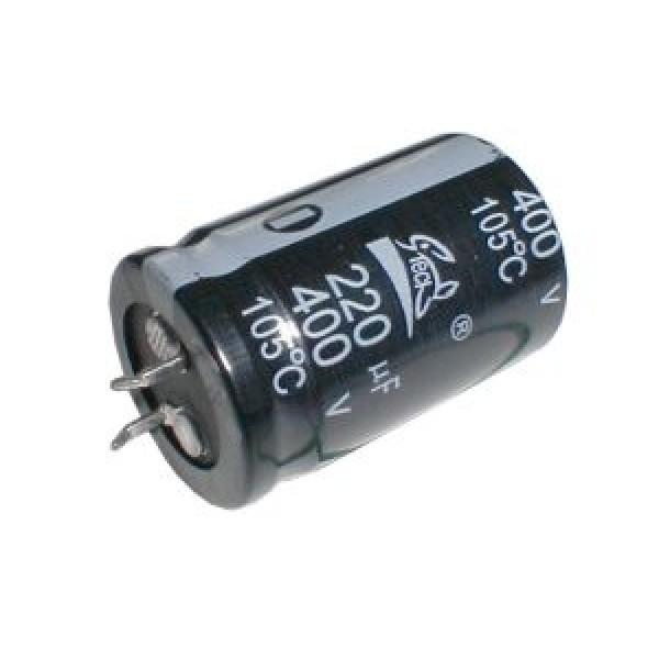 Kondenzátor elektrolytický 220M 400V 25x42-10 105*C rad.C SNAP-IN