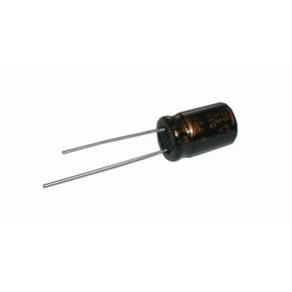 Kondenzátor elektrolytický 2M2 63V 5x11-2.5 rad.C