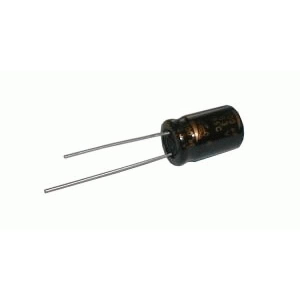 Kondenzátor elektrolytický 3M3 50V 5x12-2.5 SKR C