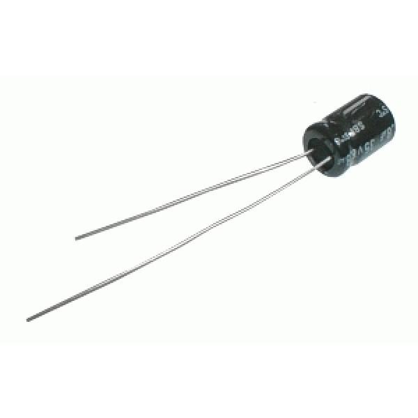 Kondenzátor elektrolytický NP 8M2 50V Jam.NK