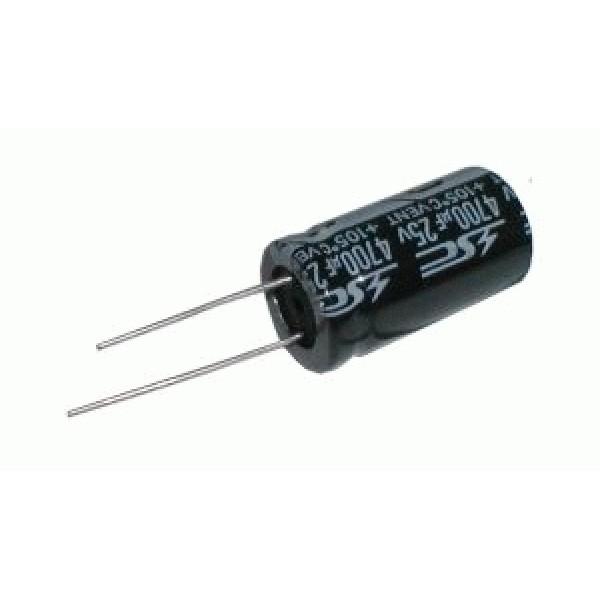 Kondenzátor elektrolytický 100M 250V 16x30mm rad.C