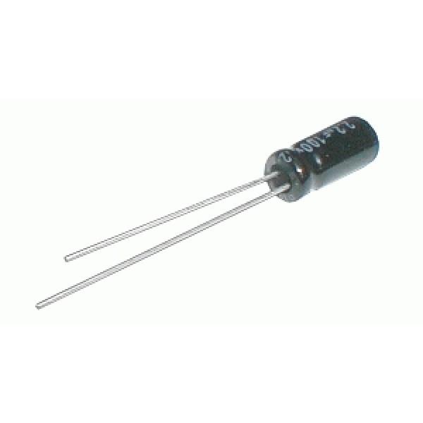 Kondenzátor elektrolytický 3M3 50V 5x11-2.5 105*C rad.C