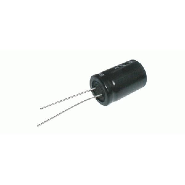 Kondenzátor elektrolytický 3G3 25V 16x25-7.5 105*C rad.C