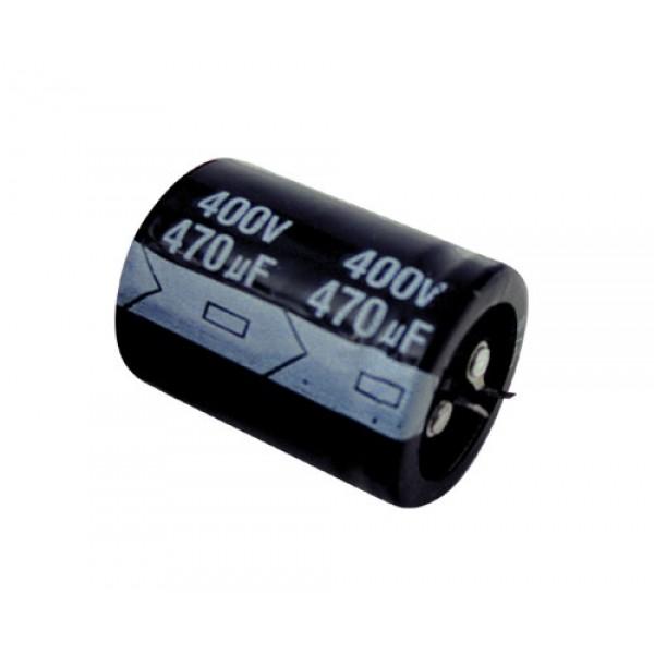 Kondenzátor elektrolytický 470M 400V 35x45 85*C rad.C SNAP-IN