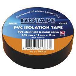 Izolačná páska PVC 15 10m čierna