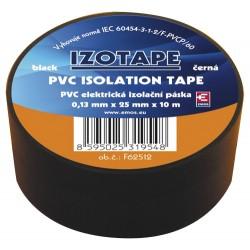 Izolačná páska PVC 25 10m čierna