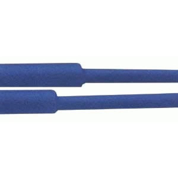 Bužírka zmršťovacia - 50.0 25.0mm modrá