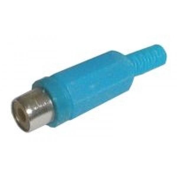 Zdierka CINCH kábel plast modrá