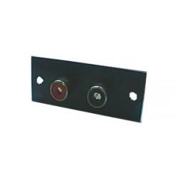 Zdierka CINCH panel 2x na podložke 20x52mm