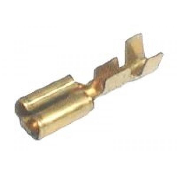 Zdierka faston neizolovaná 2.8mm 0.3-1mm