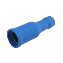 Zdierka kruhová 4mm, vodič 1.5-2.5mm modrá