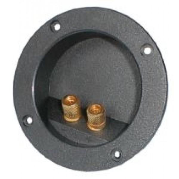Reprosvorka RSA-3 2x guľatá zlatá pr. 83
