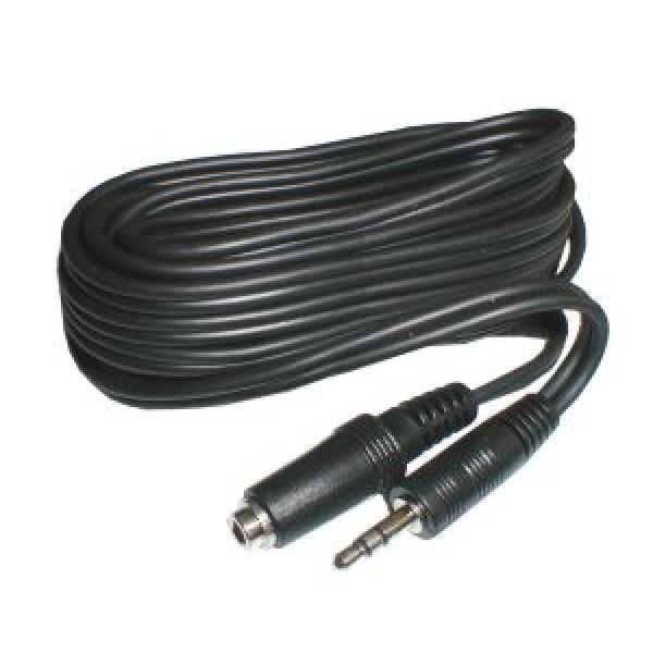 Kábel Jack 3.5 stereo - zdierka Jack 3.5 stereo 5m