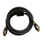 Kábel HDMI - HDMI 2,0m HQ (gold,ethernet,filter)