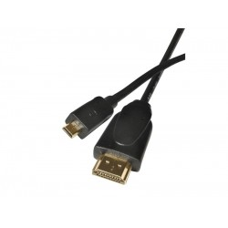 Kábel HDMI(A) - HDMI(D) micro 1.5m (1.4 high speed kabel.ethernet)