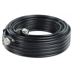 Kábel koaxiálny RG59 + napájací kábel DC, 10 m KÖNIG SAS-CABLE1010
