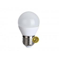 LED žiarovka, miniglobe, 4W, E27, 3000K, 310lm