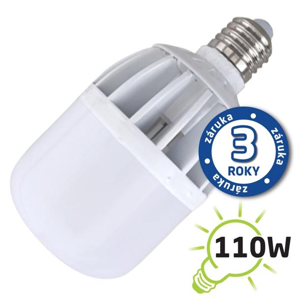 Žiarovka LED A80 E27/230V 20W (Al) - biela teplá (záruka 3 roky)
