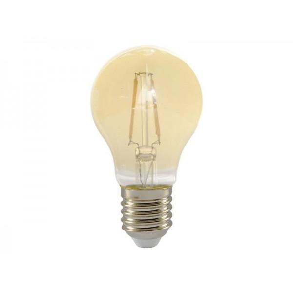 Žiarovka LED A60 E27 4W RETLUX RFL 224 teplá biela, filament Amber