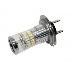 TURBO LED 12-24V s päticou H7, 48W biela 95T-H7-48W