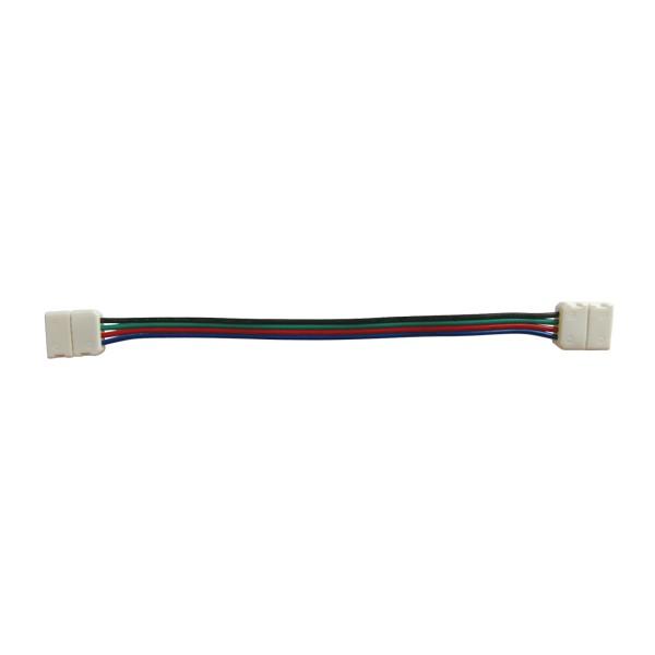 Spojka nepájivá pre RGB LED pásky 5050 30,60LED/m o šírke 10mm s vodičom