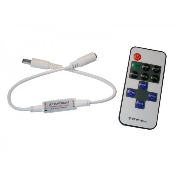 LED kontrolér, stmievač pre jednu farbu, RF OLP02