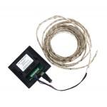 Nástenný dotykový RGB kontrolér pre LED pásiky