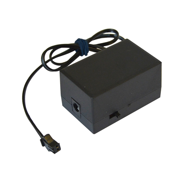 Menič (inverter) pre svietiací kábel a pásik na DC konektor