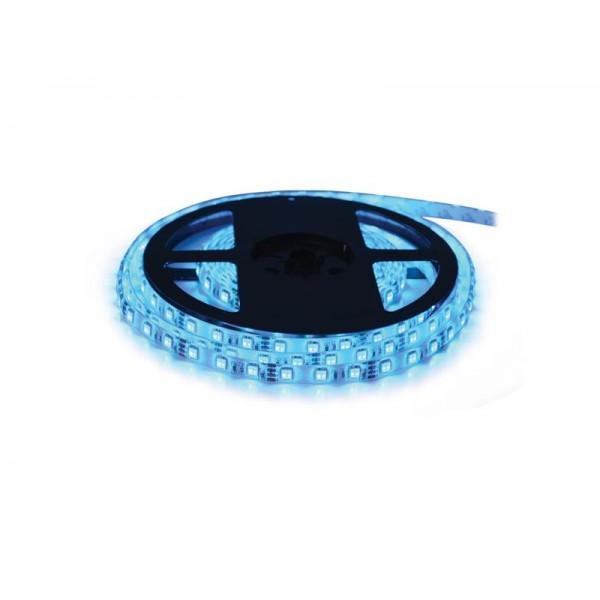 LED pásik 12V 3528 60LED/m IP68 max. 4.8W/m modrá (1ks=cievka 5m) vodeodolný