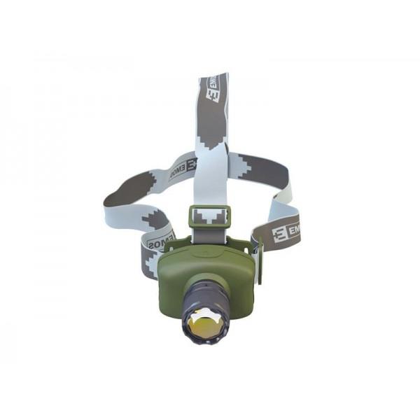 Svietidlo čelovka LED 3W 3xAAA CREE