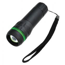 Svietidlo LED (1W) pogumované (3xAAA) fokus, sivé WL07