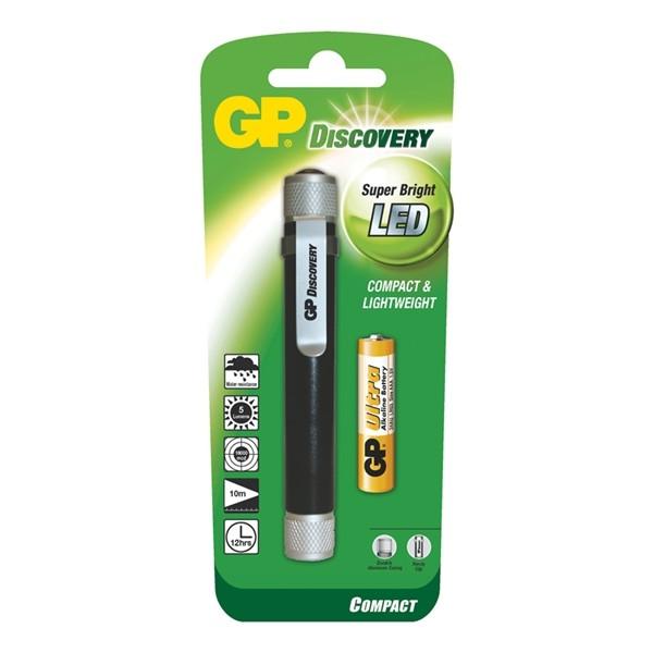 Svietidlo LED (1x) GP LCE205 + 1 x AAA batéria GP Ultra