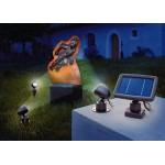 Svietidlo LED - solárne bodové Trio