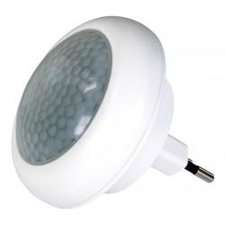 Nočné svietidlo 230V 8xLED farbu meniace, senzor