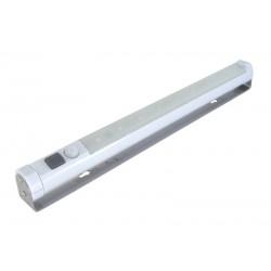 Svietidlo LED nástenné s pohybovým PIR senzorom, biele