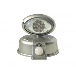 LED reflektor s PIR čidlom na 4xAA, RF01