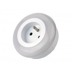 Nočné svetlo do zásuvky 230V, 3x LED