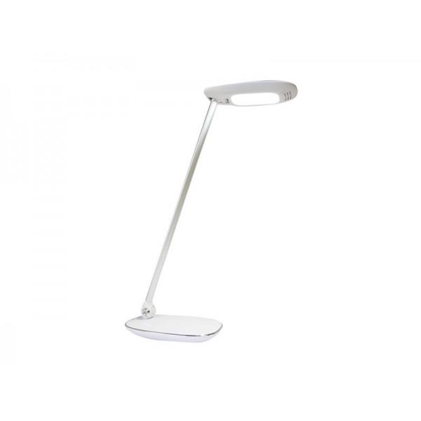 Stolná LED lampa Q7 s USB, biela