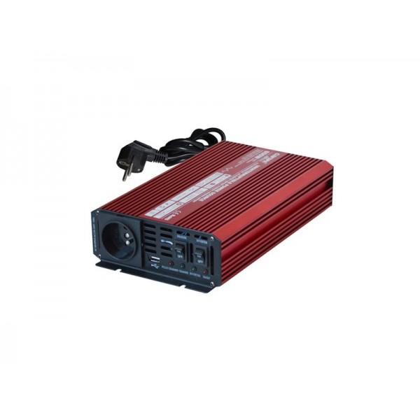 Menič napätia 12V/230V 600W UPS + nabíjačka CARSPA UPS600