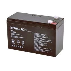 Batéria olovená 12V 7Ah VIPOW (7,5Ah) bezúdržbový akumulátor
