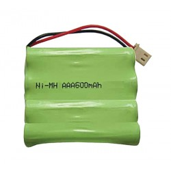 Akupack NiMH AAA 4,8 V/600mAh