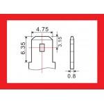 Batéria olovená 6V/ 7,0Ah MOTOMA bezúdržbový akumulátor