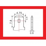 Batéria olovená 12V/ 2,3Ah MOTOMA bezúdržbový akumulátor