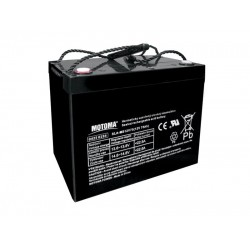 Batéria olovená 12V/75Ah MOTOMA bezúdržbový akumulátor