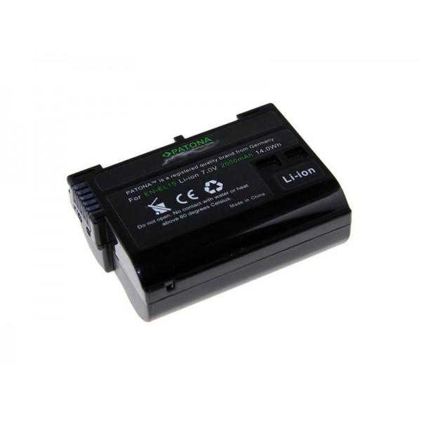 Batéria NIKON EN-EL15 2000mAh premium PATONA PT1224