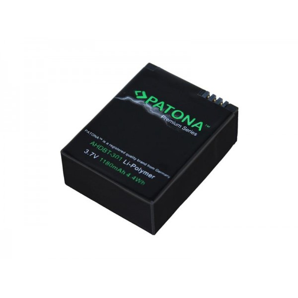 Batéria GOPRO AHDBT-201 1180mAh premium PATONA PT1202